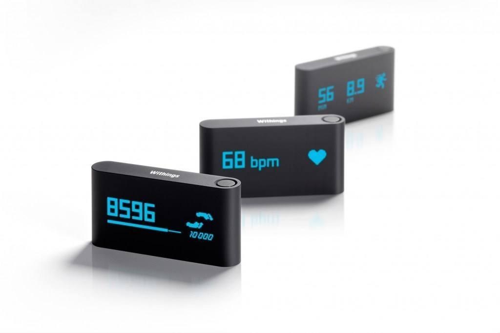 Stappentellers van Withings (hier getoond), Jawbone, Fitbit en andere gezondheidsgadgets