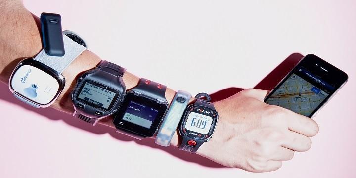 fitnesstrackers, polar, fitbit, fuelband, bodymedia, garmin