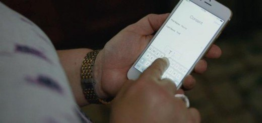 Apple ResearchKit consent via iPhone