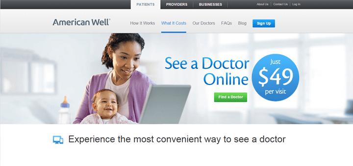 Prijsconcurrentie op de markt voor online consulten