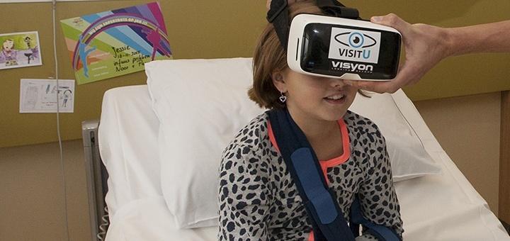 VisitU: virtual reality in het ziekenhuis