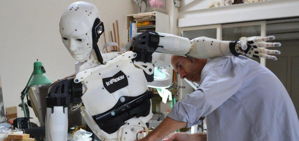 3D-geprinte InMoov robot via Wevolver