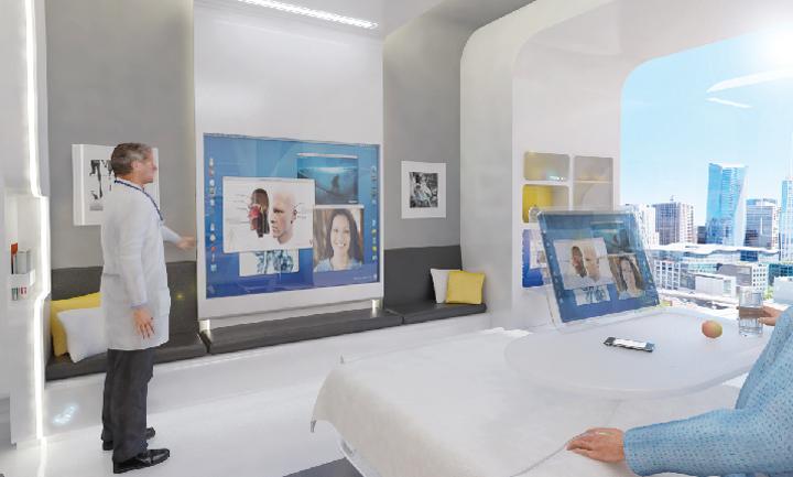 concept: Nxt Health (Patient Room 2020)