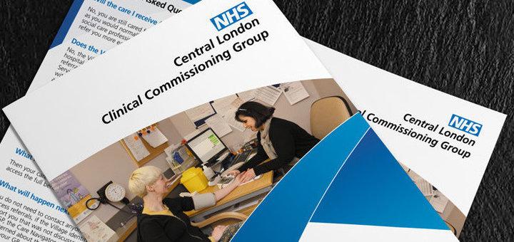 NHS flyer (foto via Meltomadesign.co.uk)