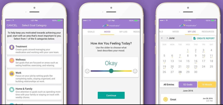 Moodivator: een app als ondersteuning bij medicatie
