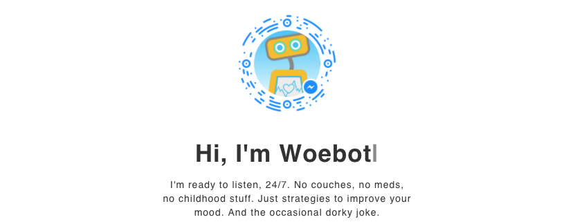 Woebot chatbot