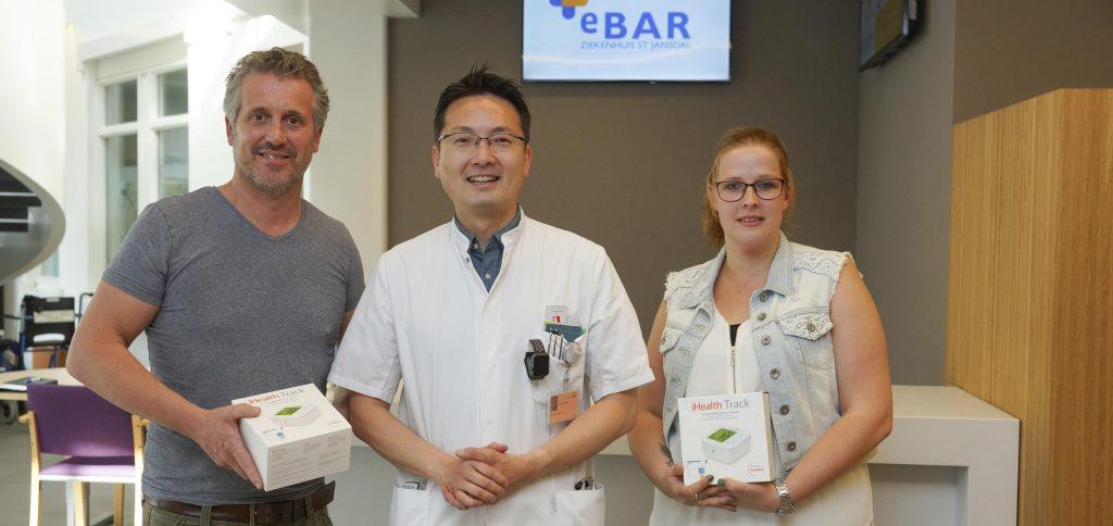 Online ondersteuning bij hoge bloeddruk - ziekenhuis St Jansdal