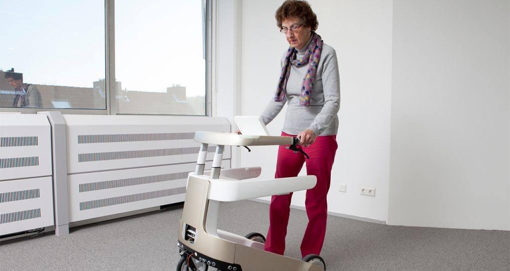 robot Lea zorgrobot rollator