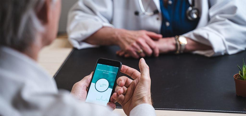 Fibricheck app om hartritmestoornissen te detecteren