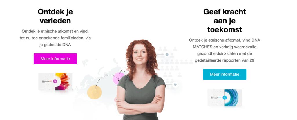MyHeritage: DNA onderzoek voor consumenten