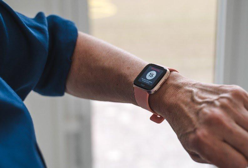 FibriCheck Fitbit samenwerking