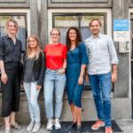 Het team van iPractice, een psychologiepraktijk in Amsterdam die inzet op digitale behandelingen