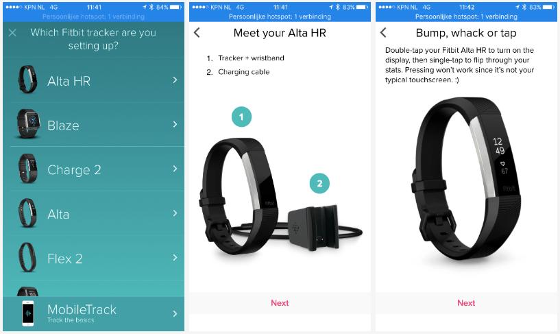 Installeren van de Fitbit Alta HR: fluitje van een cent