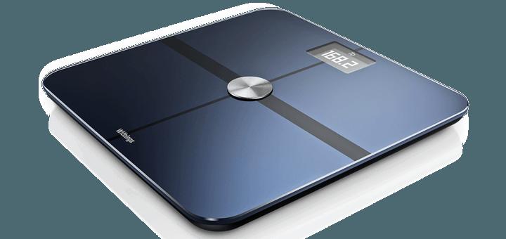 Slimme weegschalen zoals deze van Withings meten ook lichaamsvet percentage